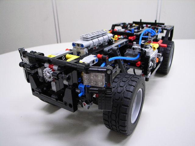LEGO (R) 『ウニモグ U400』 組立進捗レポート (その4)