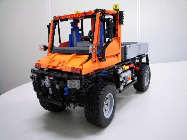 LEGO (R) 『ウニモグ U400』 組立進捗レポート (その6)