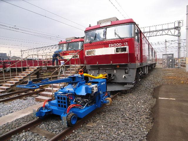 ディーゼル・エンジン式マキシ・シャンター納入